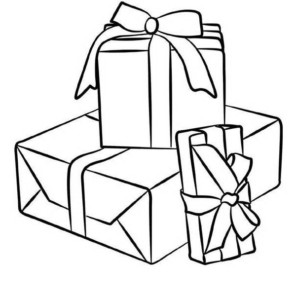 disegno regali regalo 10 categoria natale da colorare. Black Bedroom Furniture Sets. Home Design Ideas