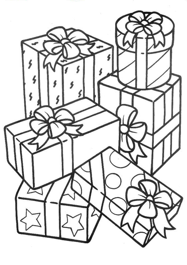 Disegno Regaliregalo23 Categoria Natale Da Colorare