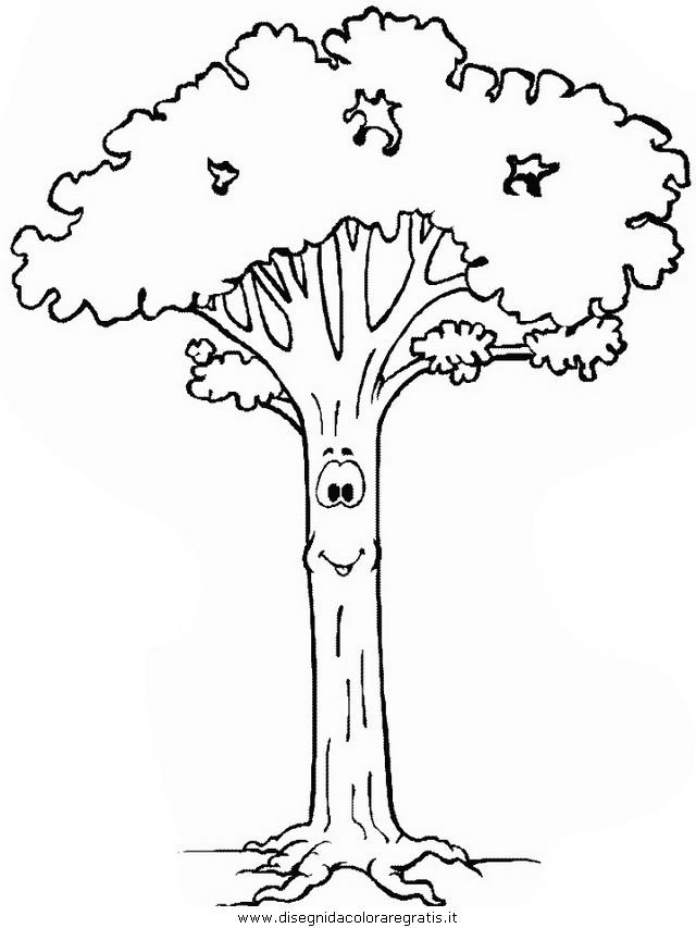 Disegno Piante Alberi 49 Categoria Natura Da Colorare