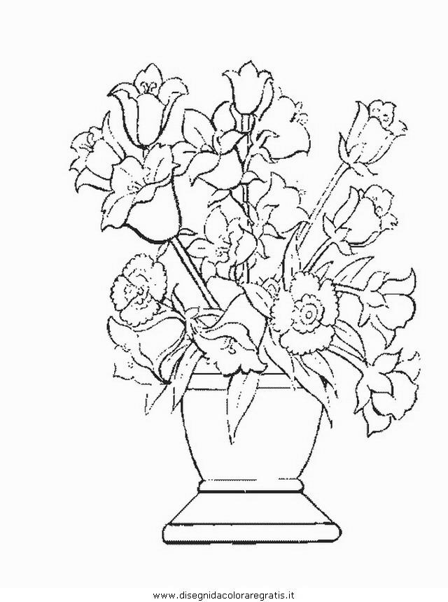 Disegno fiore fiori 191 categoria natura da colorare - Immagini da colorare della natura ...