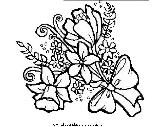 Disegno fiori fiore 007 categoria natura da colorare for Disegni fiori da colorare