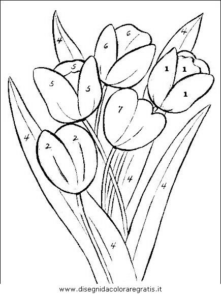 Disegno Fiori Fiore 058 Categoria Natura Da Colorare