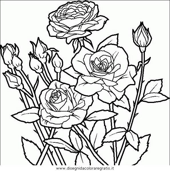 Disegno Fiori_fiore_085 Categoria Natura Da Colorare