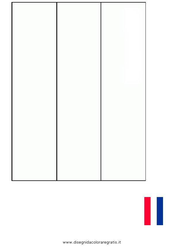 Disegno Bandiera Olanda Categoria Nazioni Da Colorare