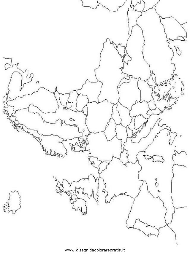 Cartina Asia Da Colorare.Uk Cartina Muta Asia Fisica
