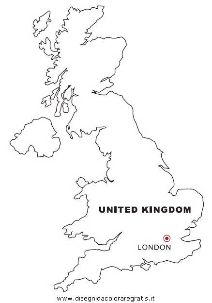 Disegno gran bretagna inghilterra categoria nazioni da for Unito lettere