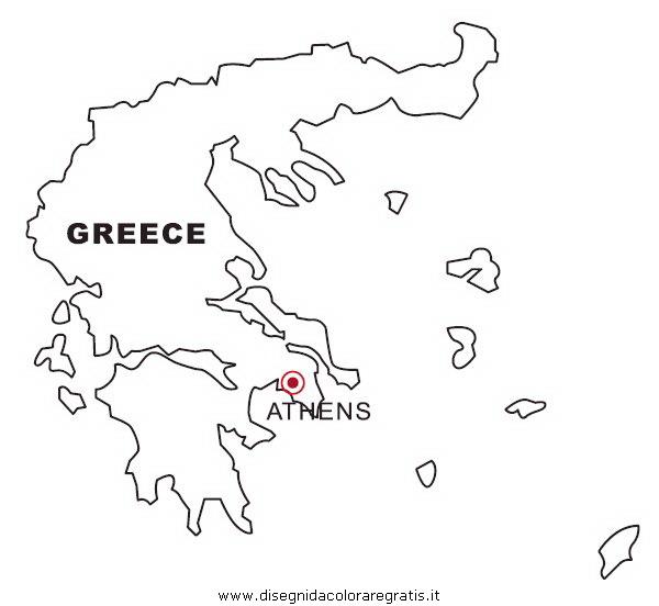 Disegno grecia categoria nazioni da colorare for Cartina della grecia antica da stampare