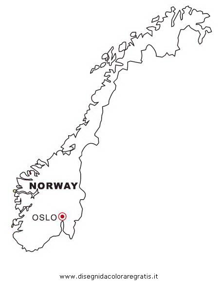 Cartina Norvegia Da Stampare.Disegno Norvegia Categoria Nazioni Da Colorare