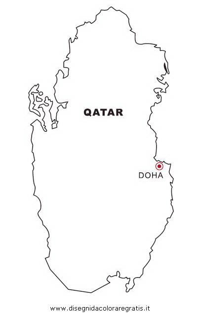 de4b7670fe Disegno qatar categoria nazioni da colorare