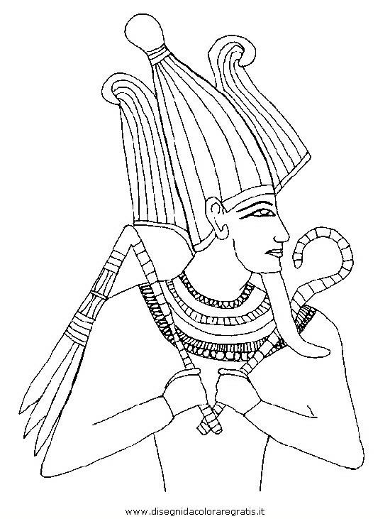 Disegno Antico Egitto 05 Categoria Nazioni Da Colorare