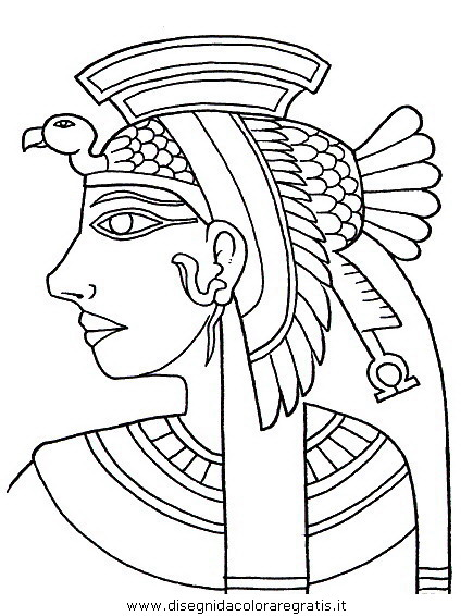 Cartina Dell Antico Egitto Da Colorare.Disegno Egitto 07 Categoria Nazioni Da Colorare