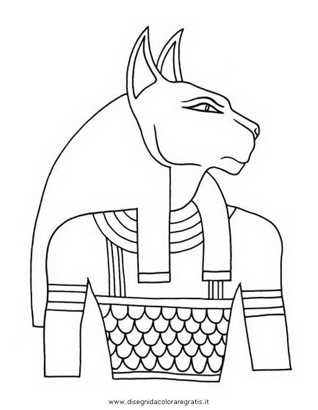 Disegno egizi bastet categoria nazioni da colorare - Arte celtica colorare le pagine da colorare ...