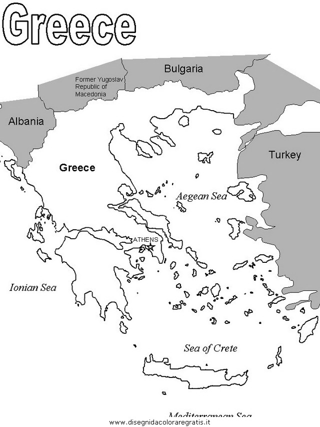 Disegno grecia 35 categoria nazioni da colorare for Cartina della grecia antica da stampare