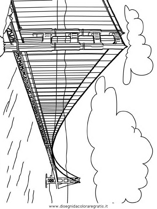 golden gate coloring pages - photo#30