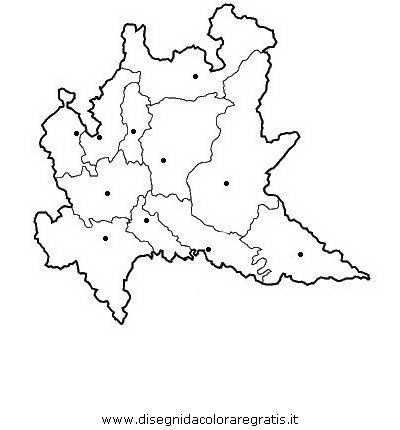 Cartina Lombardia Da Colorare.Disegno Lombardia Categoria Nazioni Da Colorare