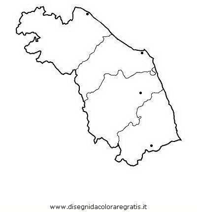 Cartina Muta Delle Marche Da Stampare.Disegno Marche Categoria Nazioni Da Colorare