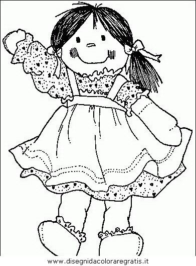 Disegno Bimbi Bambine 053 Categoria Persone Da Colorare