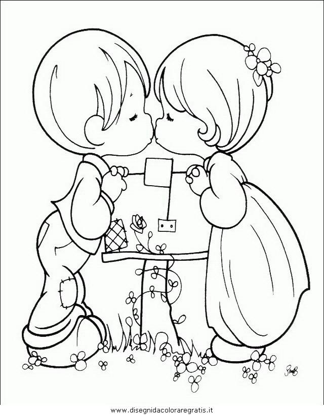 Disegno bimbi bambine personaggio cartone animato da