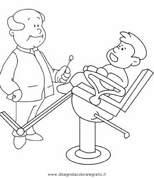 Disegno denti dentista 10 categoria persone da colorare - Immagini dei denti da colorare ...