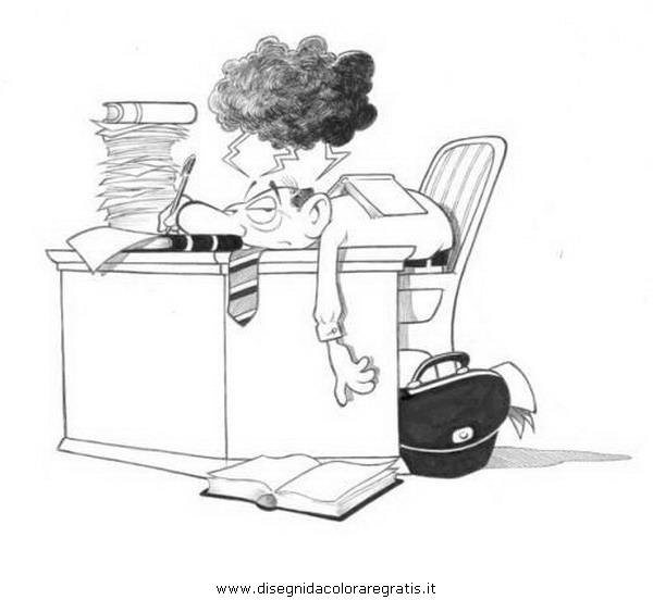 Disegno ufficio categoria persone da colorare - Immagini di uffici ...