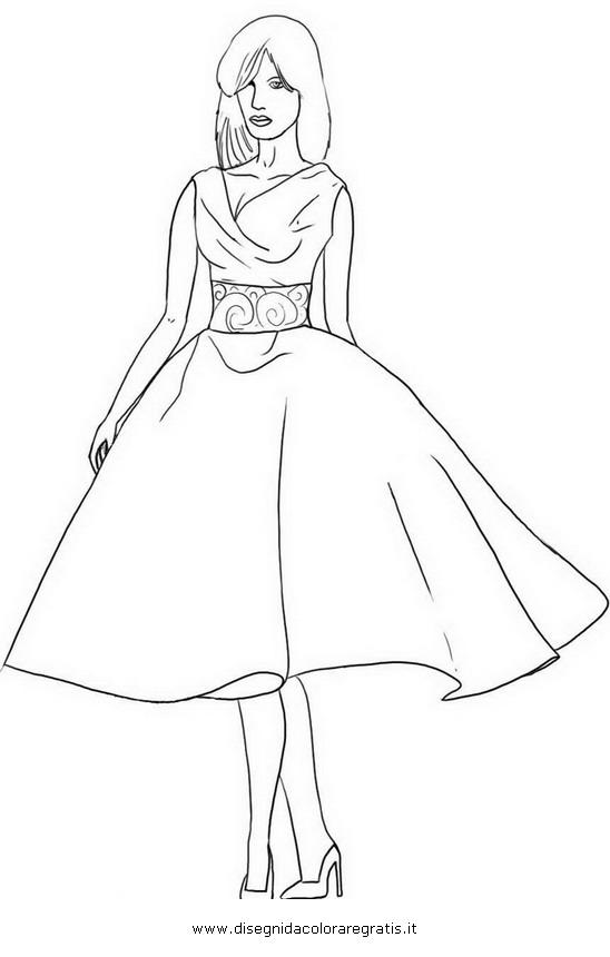 Favoloso Modelli Per Disegnare Vestiti Da Stampare Ur91 Pineglen
