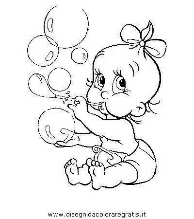 Disegno neonato bambini 08 categoria persone da colorare for Neonati da colorare e stampare