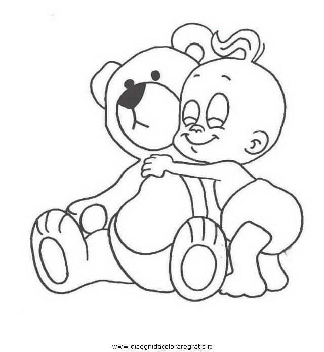 disegno neonato neonati 10 categoria persone da colorare