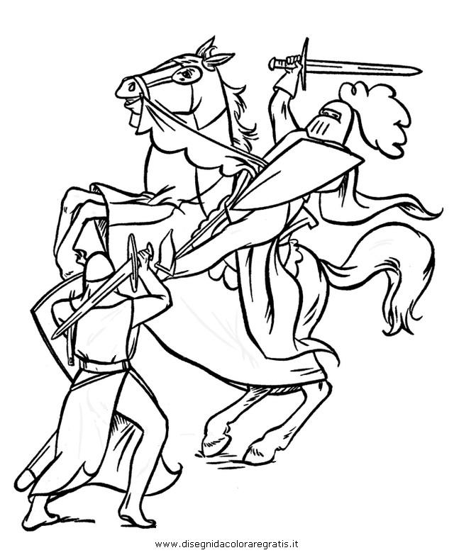Disegno armatura 02 categoria persone da colorare - Cavaliere libro da colorare ...