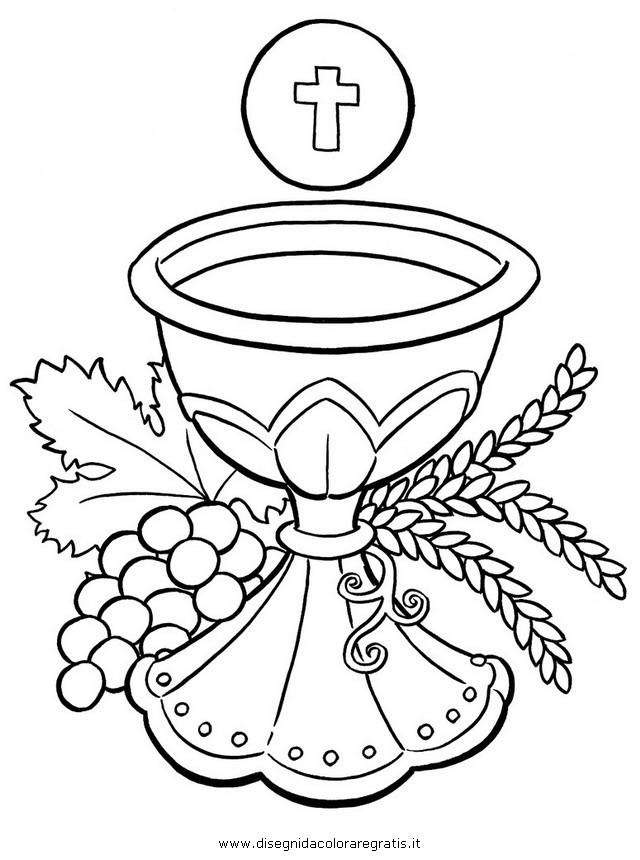 Disegno Eucarestia 6 Categoria Religione Da Colorare