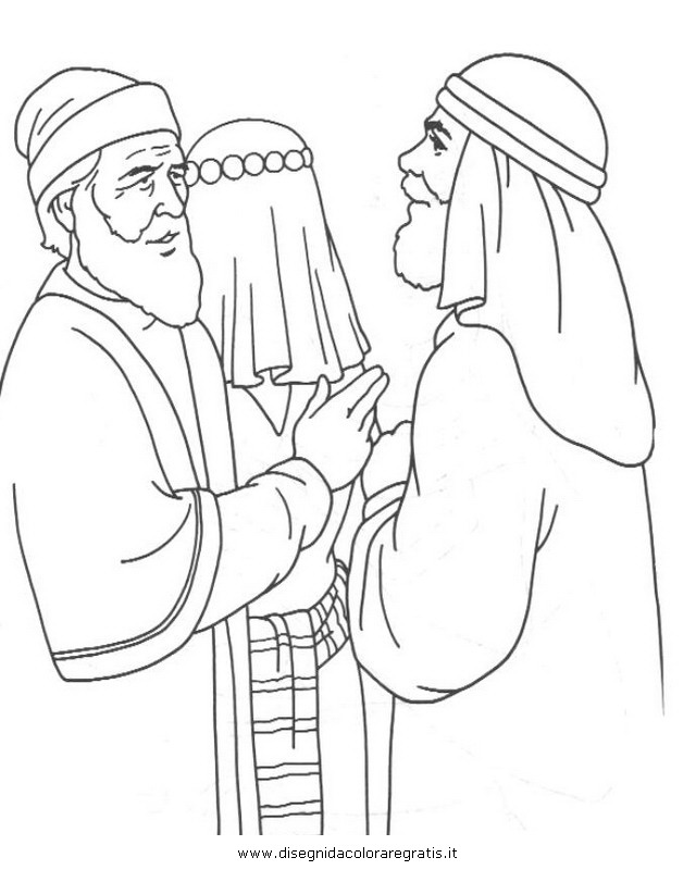 Jacob and laban coloring sheet coloring pages for Jacob and rachel coloring page