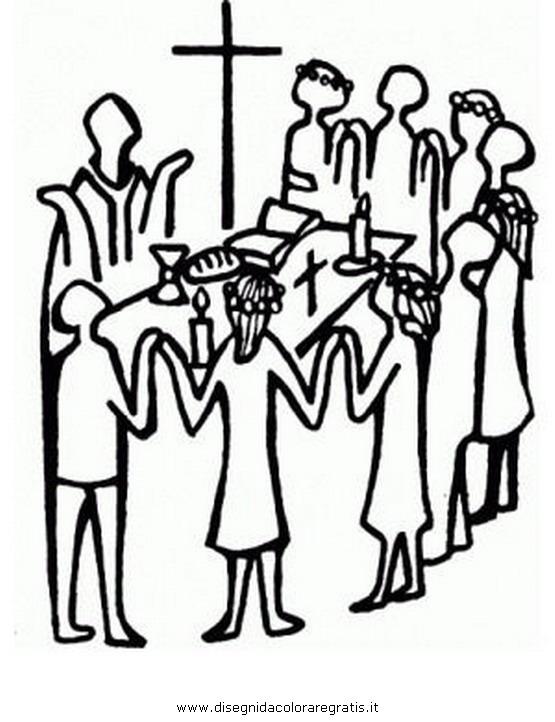 Disegno messa categoria religione da colorare for Immagini della pimpa da colorare