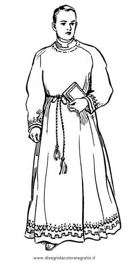 Disegno prete 1 categoria religione da colorare - Immagini di aquiloni per colorare ...