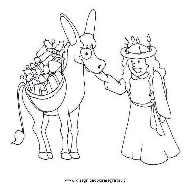 swedish christmas coloring pages photo25