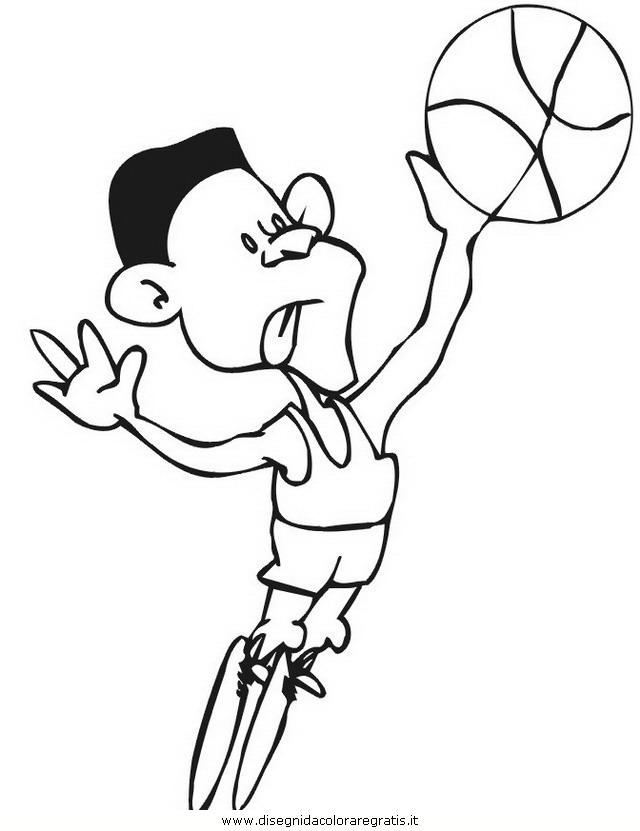 Disegno pallacanestro 96 categoria sport da colorare - Immagini stampabili di pallacanestro ...