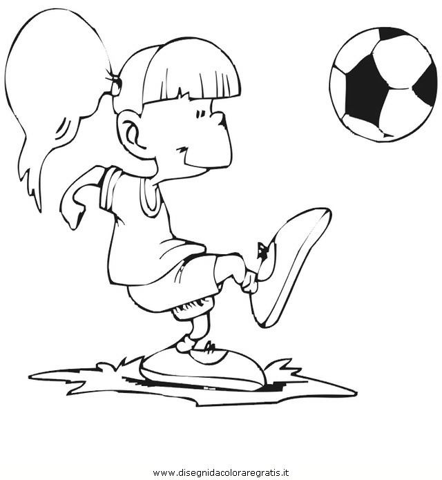 Disegno Calcio 20 Categoria Sport Da Colorare