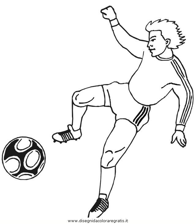 Disegno Calcio 31 Categoria Sport Da Colorare