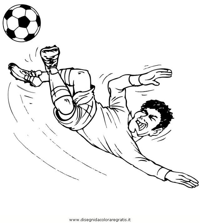 Disegno Calcio38 Categoria Sport Da Colorare