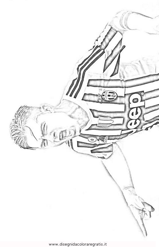 Disegno Dybala2 Categoria Sport Da Colorare