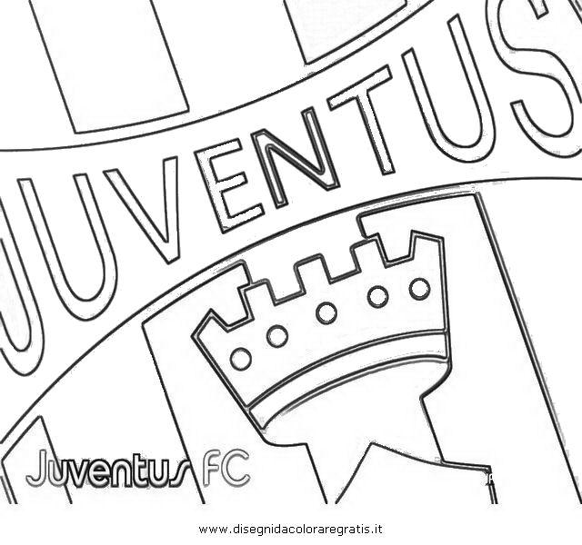 Disegno Juventus2 Categoria Sport Da Colorare