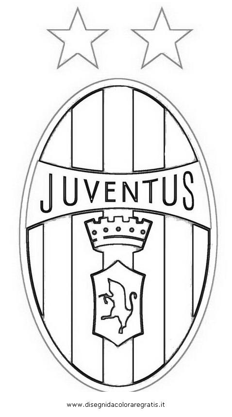Disegno Juventus3 Categoria Sport Da Colorare