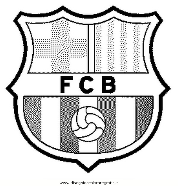 coloring pages barcelona fc fixtures - photo#18