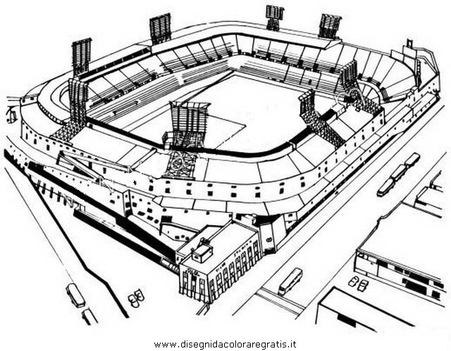 Disegno Stadio1 Categoria Sport Da Colorare