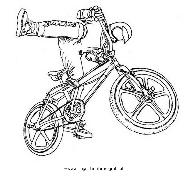Disegno Bmx10 Categoria Sport Da Colorare