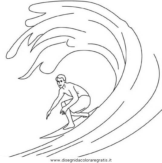 Disegno surf 8i categoria sport da colorare for Disegni sport da colorare