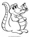 Coccodrilli disegni da colorare for Coccodrillo da colorare