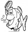 Pesci misti disegni da colorare for Immagini da colorare pesci