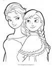 Frozen E Olaf Disegni Da Colorare E Da Stampare