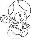 Toad elenco disegni da colorare for Toad and toadette coloring pages