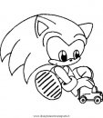 Sonic Disegni Da Colorare E Da Stampare