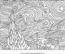 Disegno kandinsky 06 misti da colorare for Quadri famosi da colorare van gogh